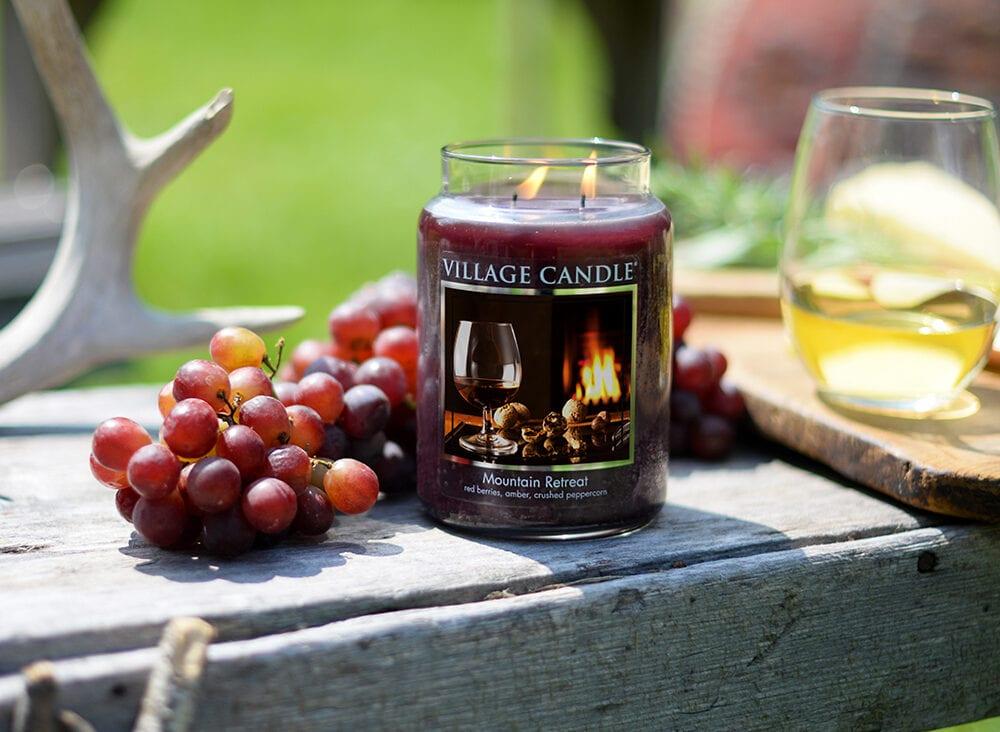 Village | Glass Jar Candles