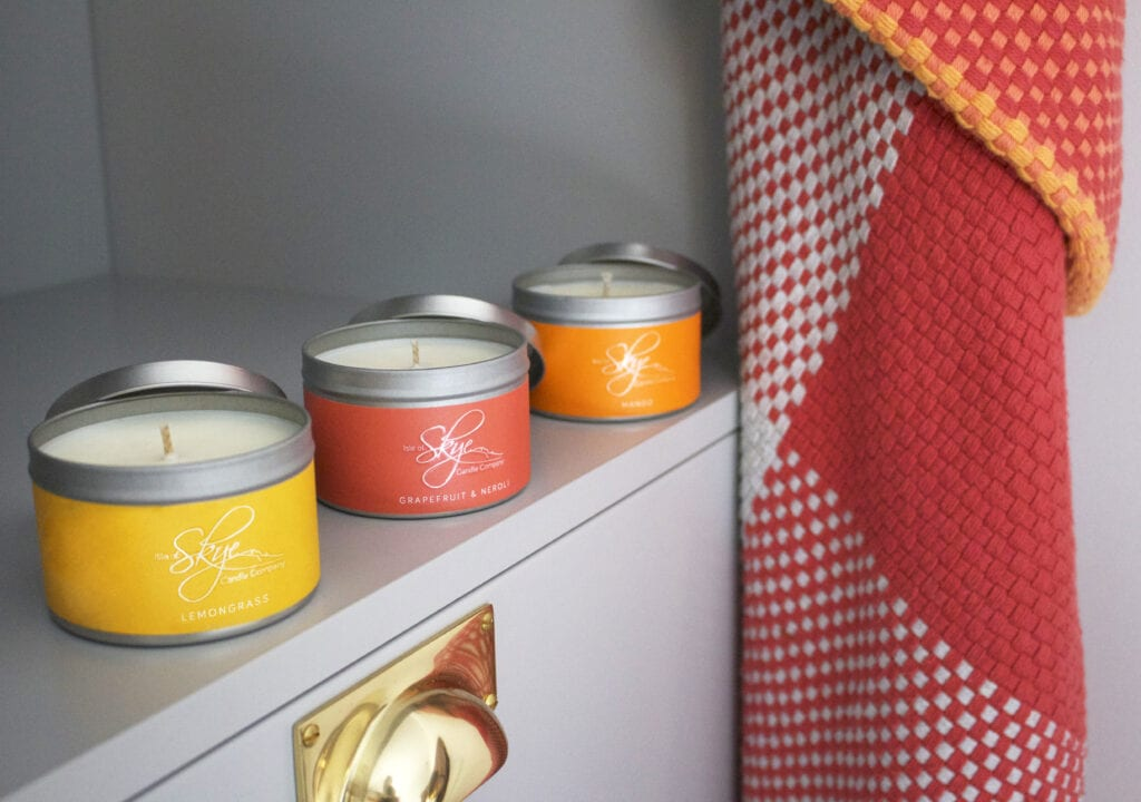 Candles In Tin