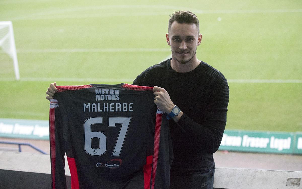 Jérémy Malherbe signe à Dundee (Crédit Dundee official website)