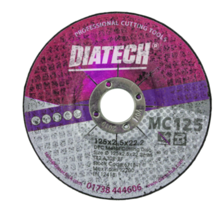 METAL ABRASIVE CUTTING DISC – DPC