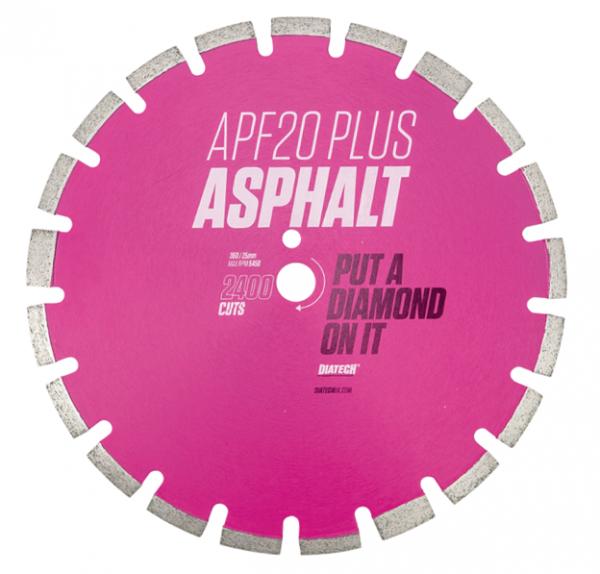 Diamond Asphalt Cutting Blade APF20 Plus