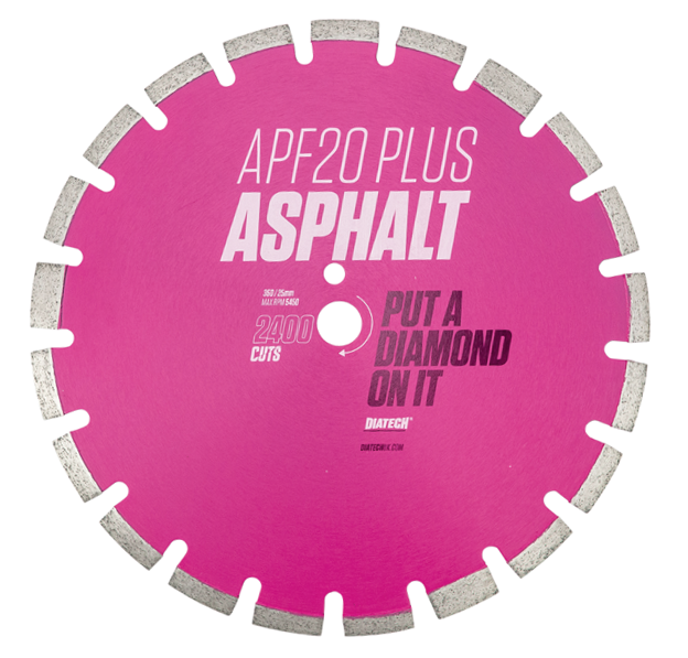 Diamond Asphalt Cutting Blade APF20 Plus