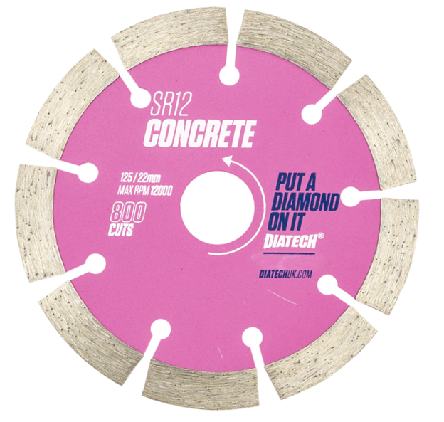 Diamond Blades For Concrete SR12