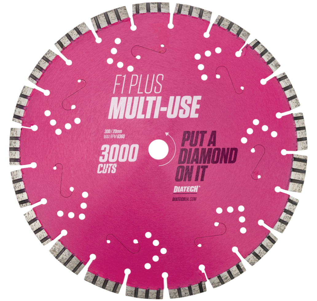 F1 PLUS MULTI-USE DIAMOND BLADE