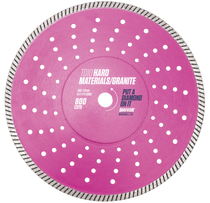 Hard Materials Diamond Blade