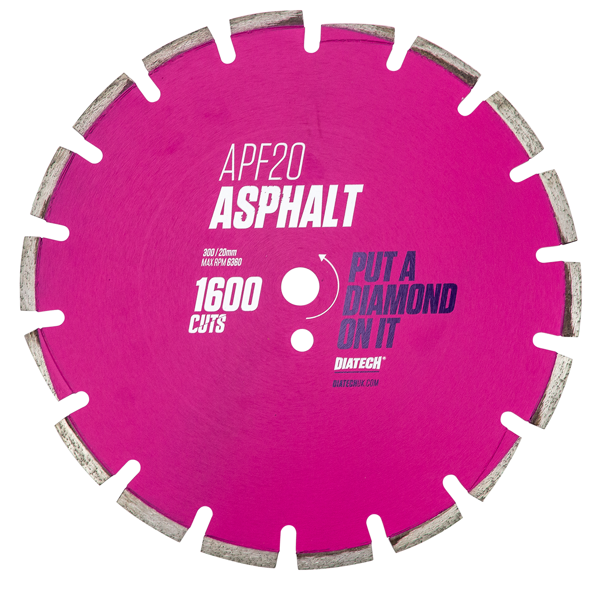 Blades For Cutting Asphalt APF20 Professional