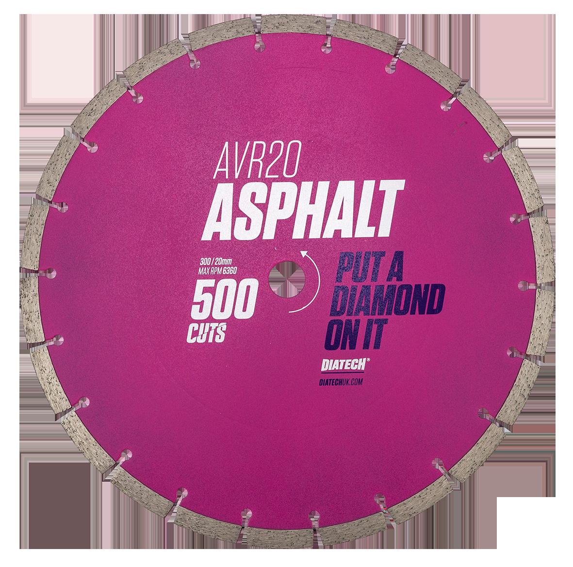 Asphalt Cutter Blade AVR20