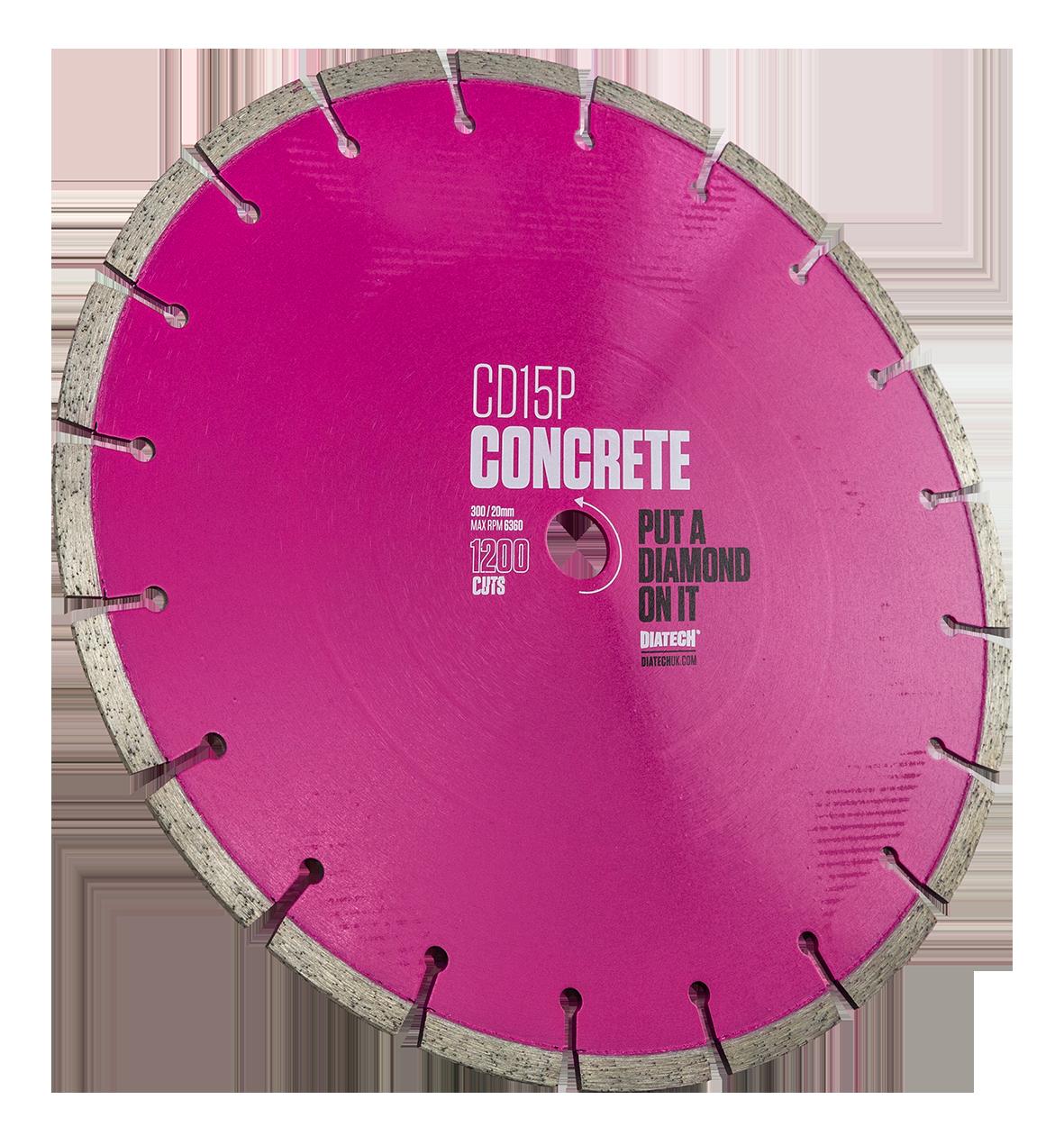CD15P CONCRETE DIAMOND BLADE