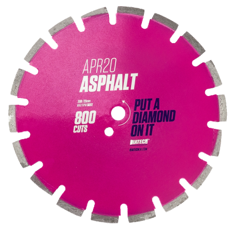 Hot Rolled Asphalt Diamond Blade APR20