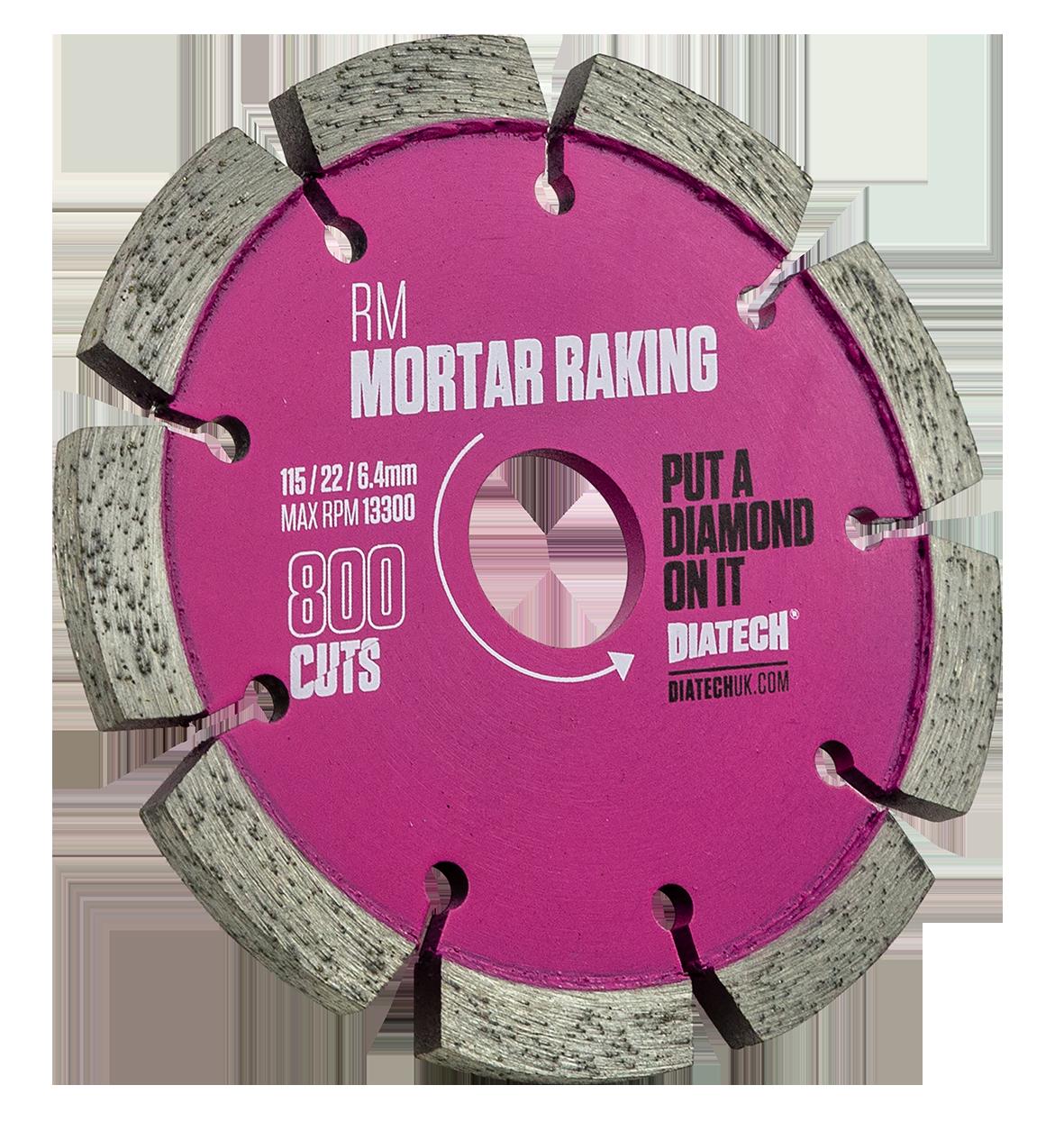 Mortar Rake Disc