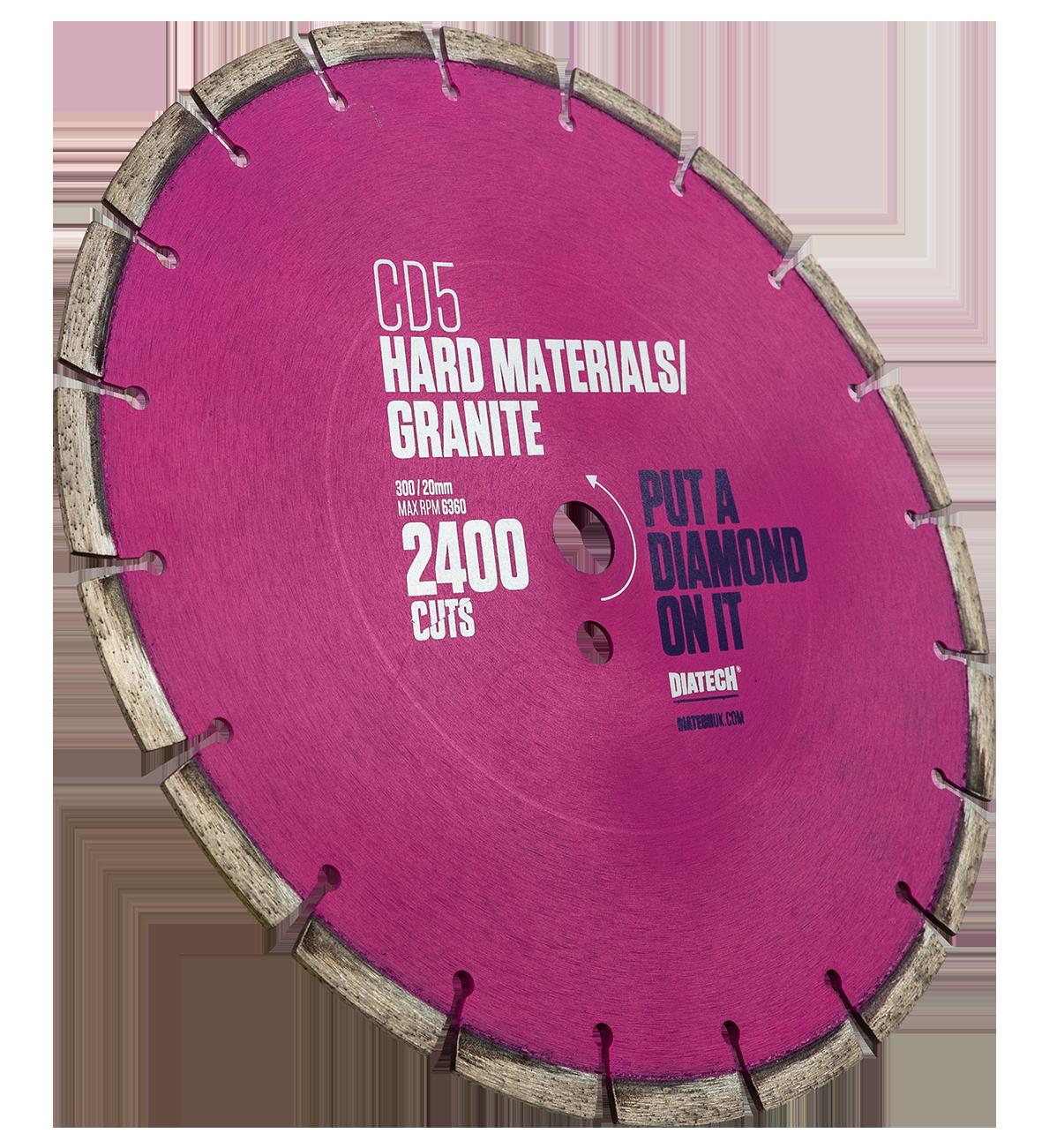 Diamond Blades for Cutting Granite CD5