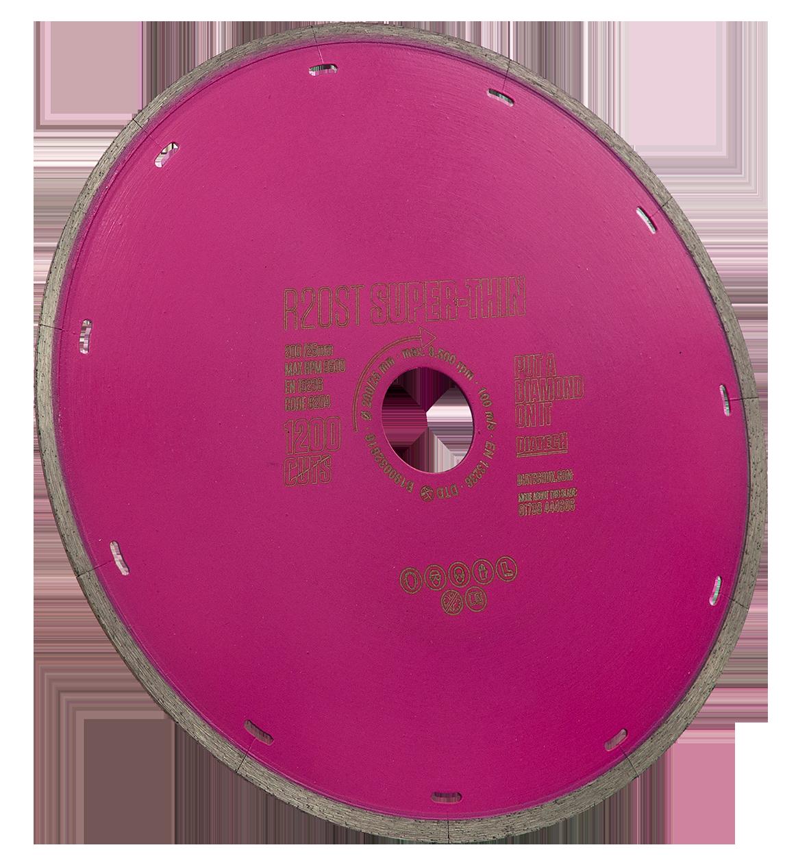 Porcelain Tile Cutting Disc R20ST