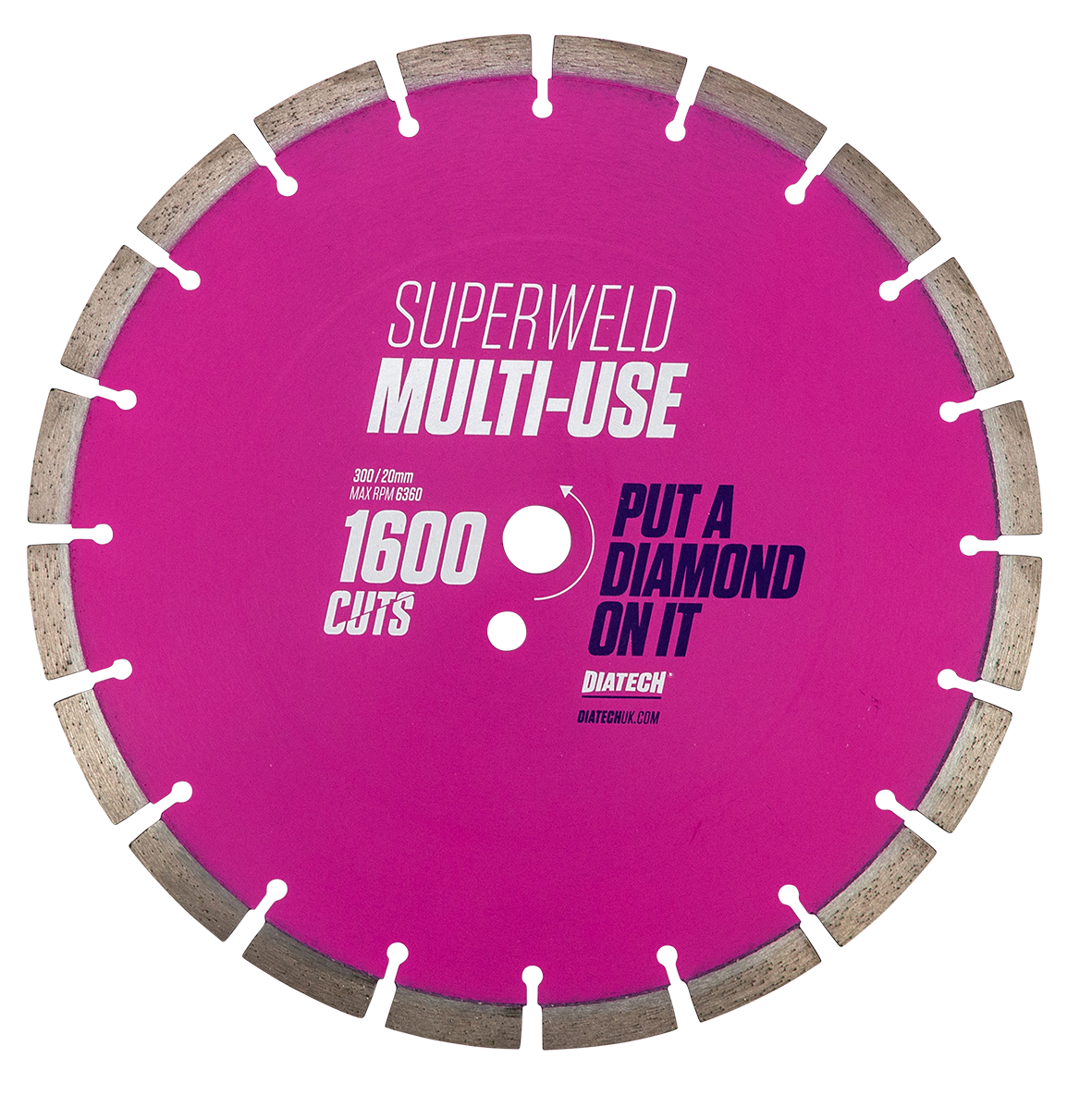 Multi Material Diamond Saw Blades Superweld