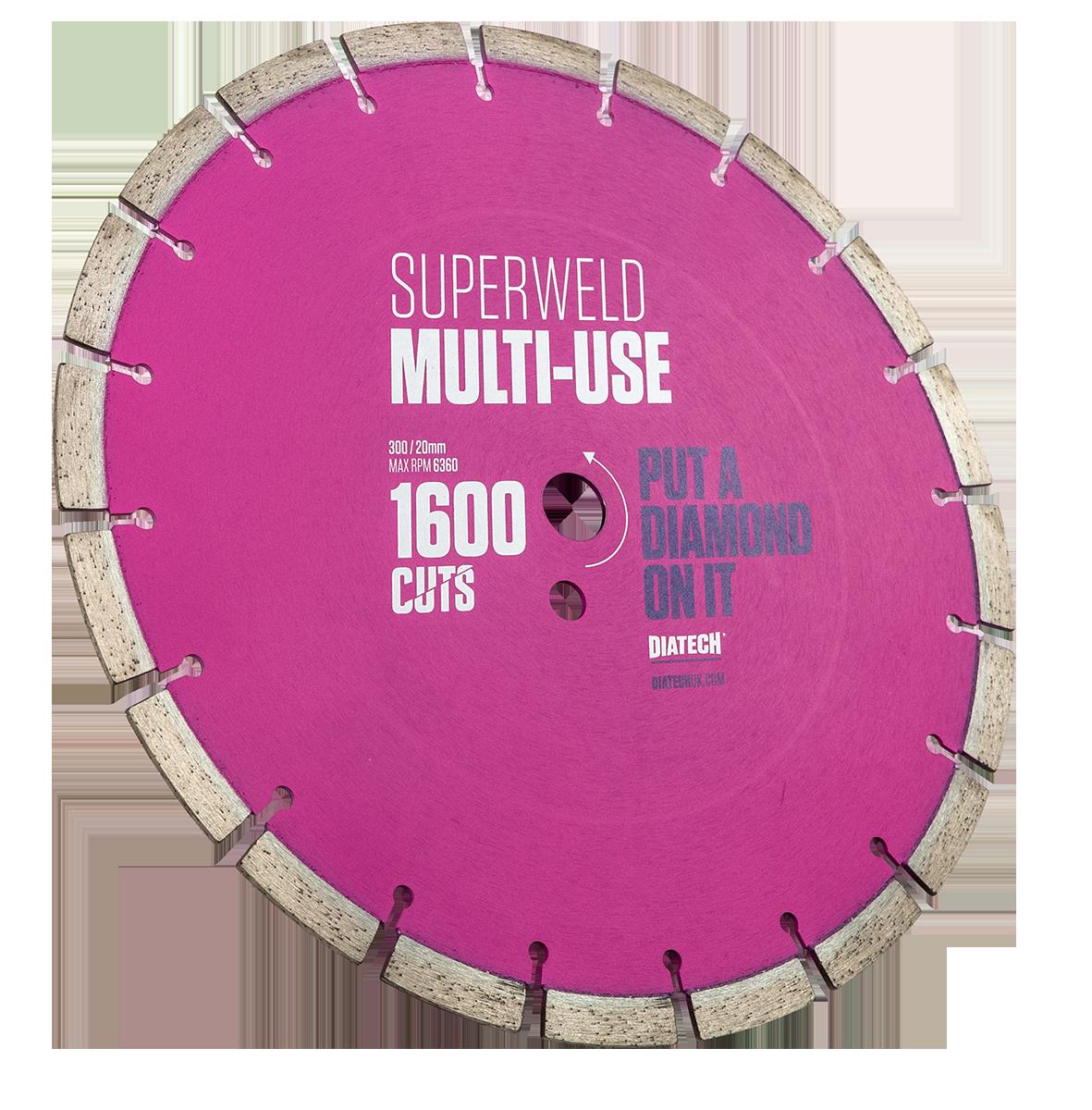 Multi Material Diamond Saw Blades Superweld