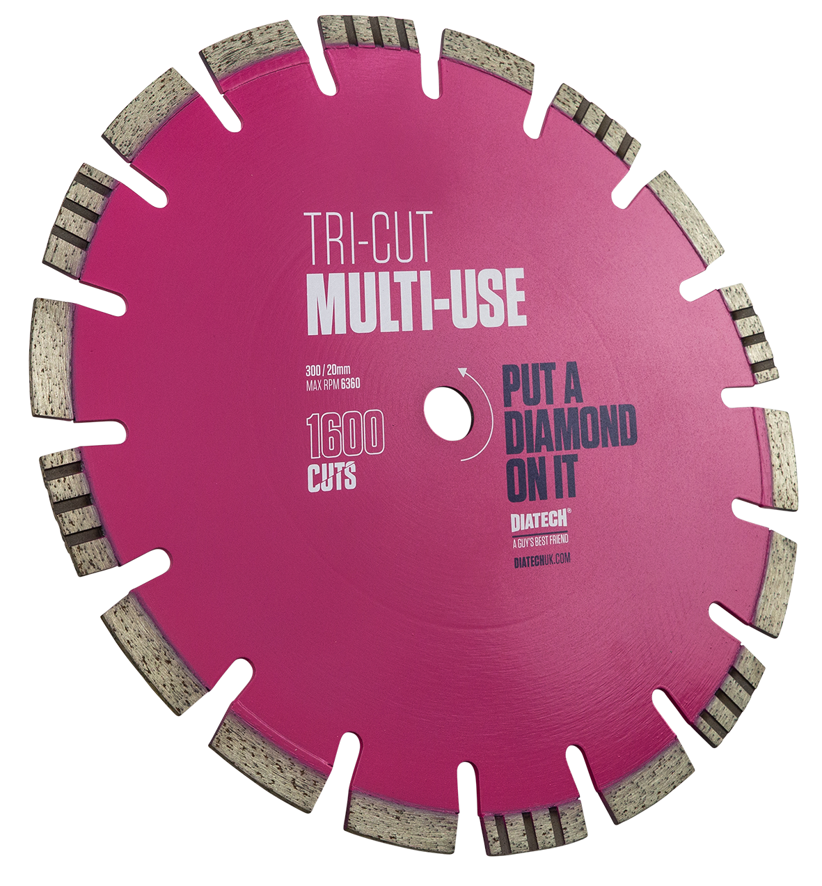 Diamond Multi Blade Tri-cut
