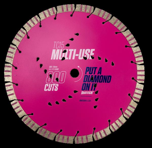 Multi Materials Cutting Disc TC15