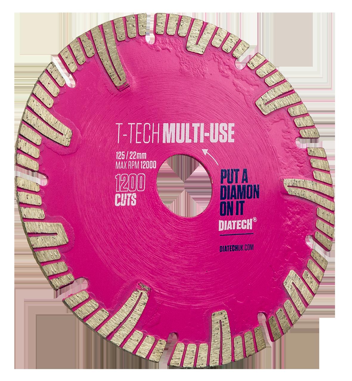 Multi-Material Cutting Disc T-tech