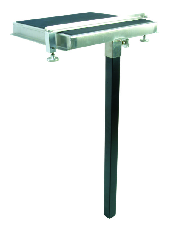 DIAMOND3 STAINLESS STEEL SIDE TABLE 400X400MM