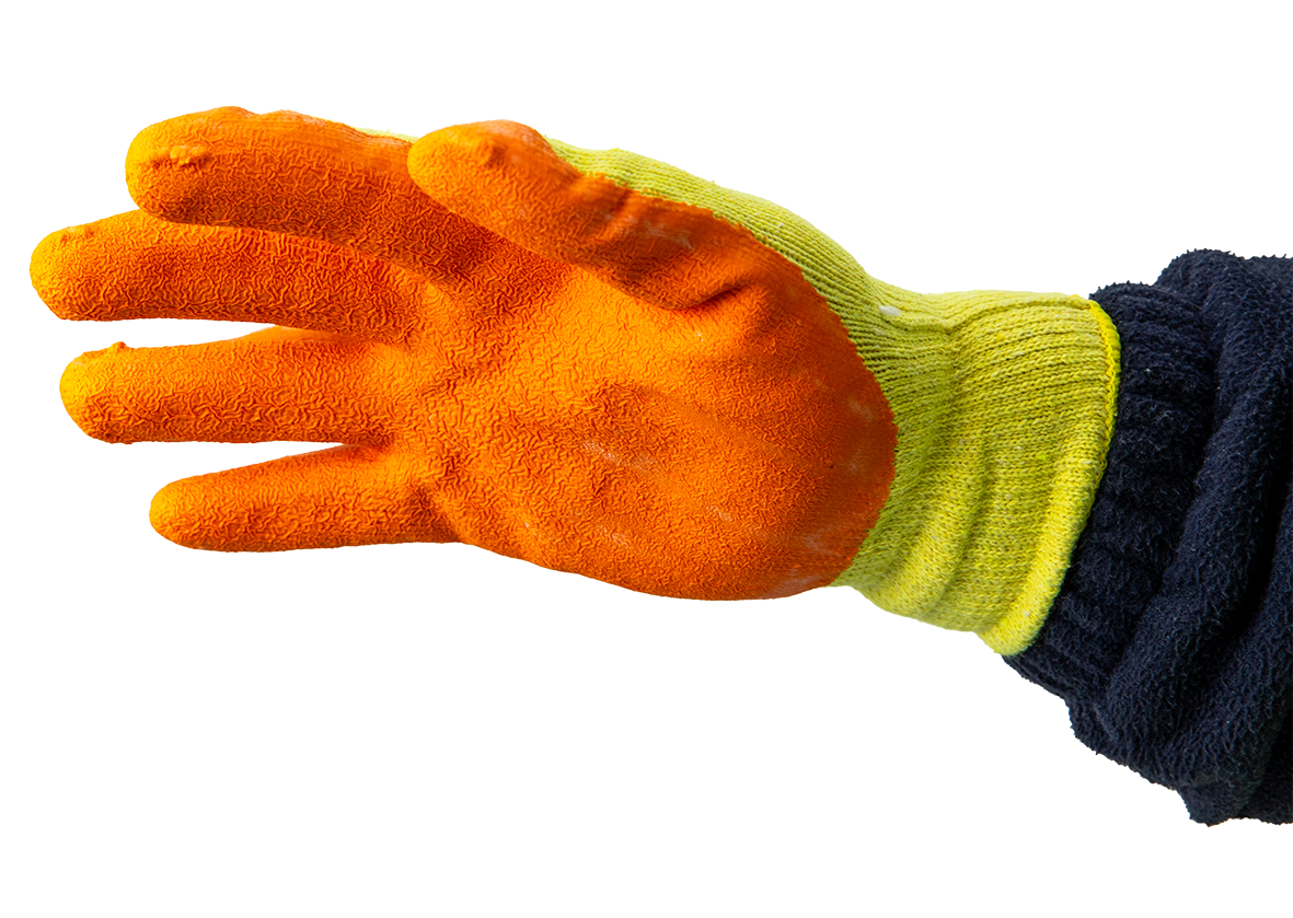 DIATECH CONTRACTORS GRIP ORANGE GLOVE