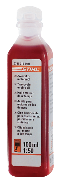 STIHL OIL 100ML 2-STROKE 07813198401