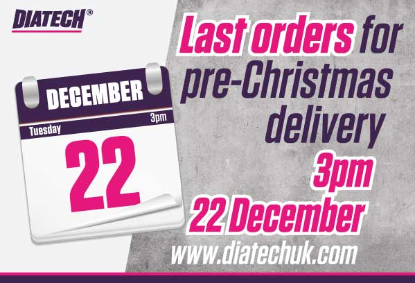 Last orders for Pre-Christmas delivery