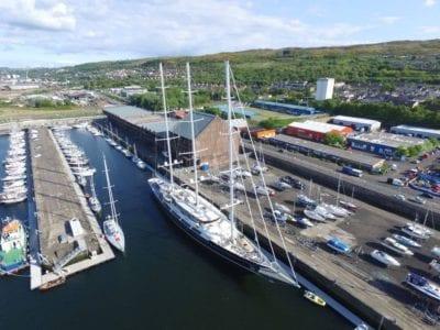 James Watt Dock Marina