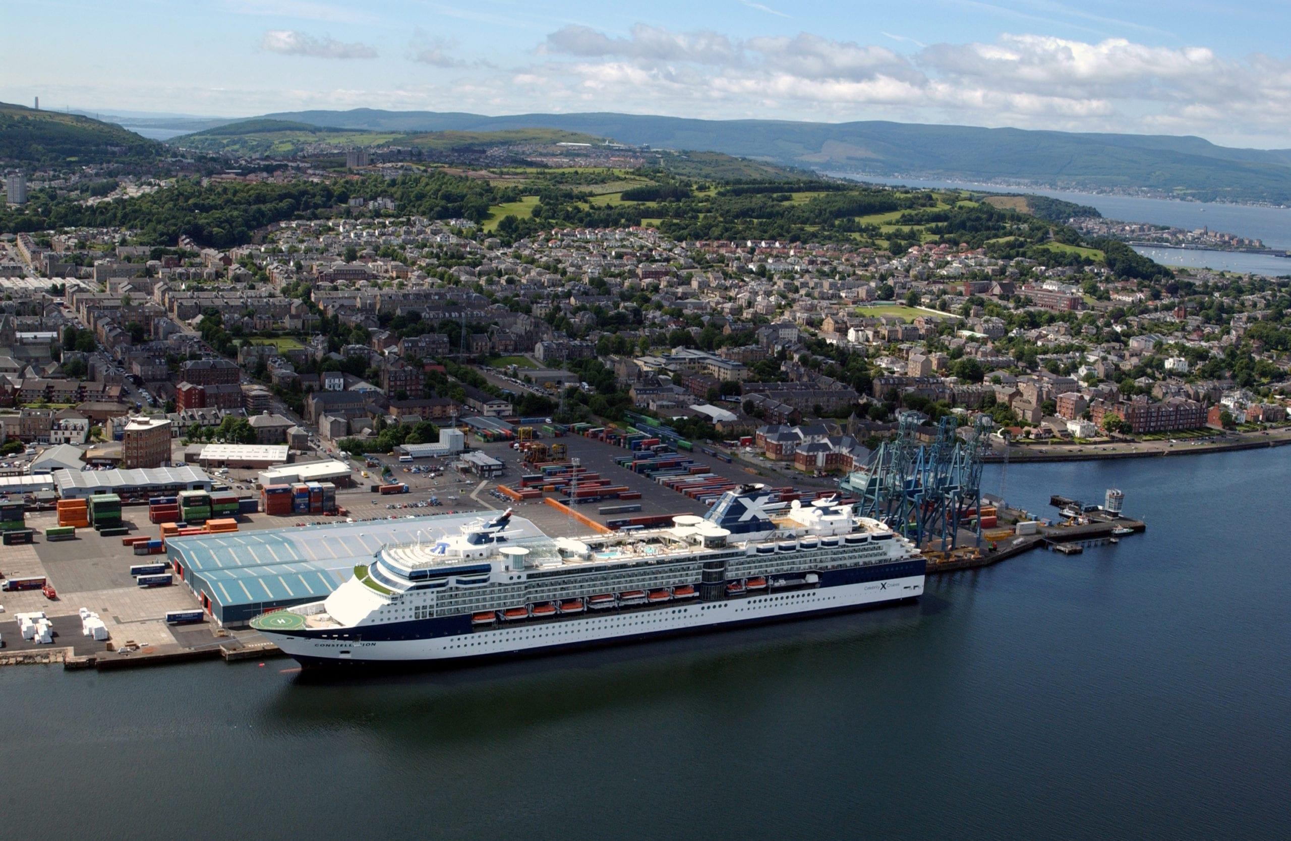 All aboard new £19.2m Greenock cruise facilities