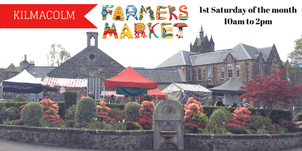 Kilmacolm Farmers Market is on Sat 5th December