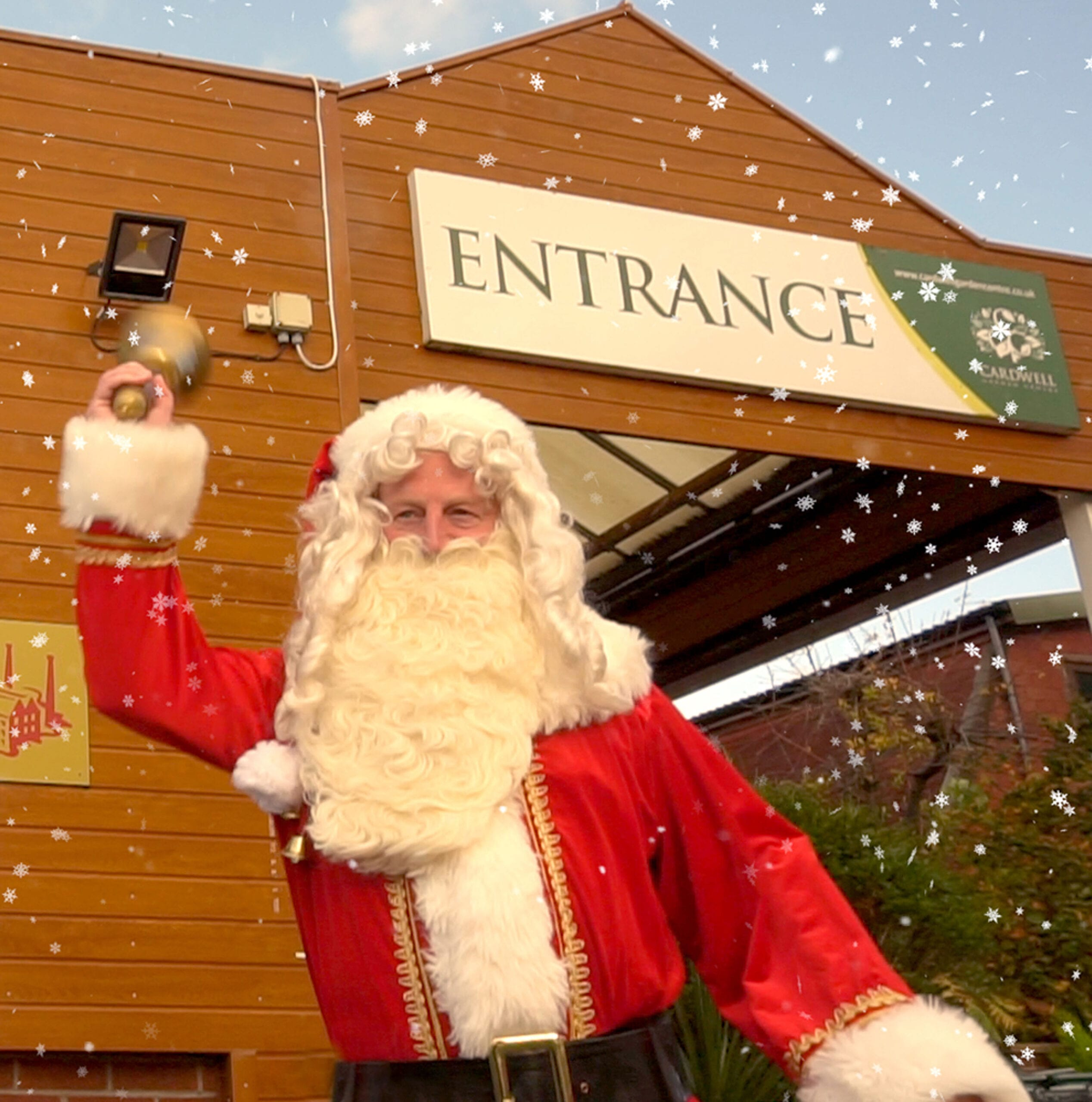 Come and see Santa at Cardwell Garden Centre