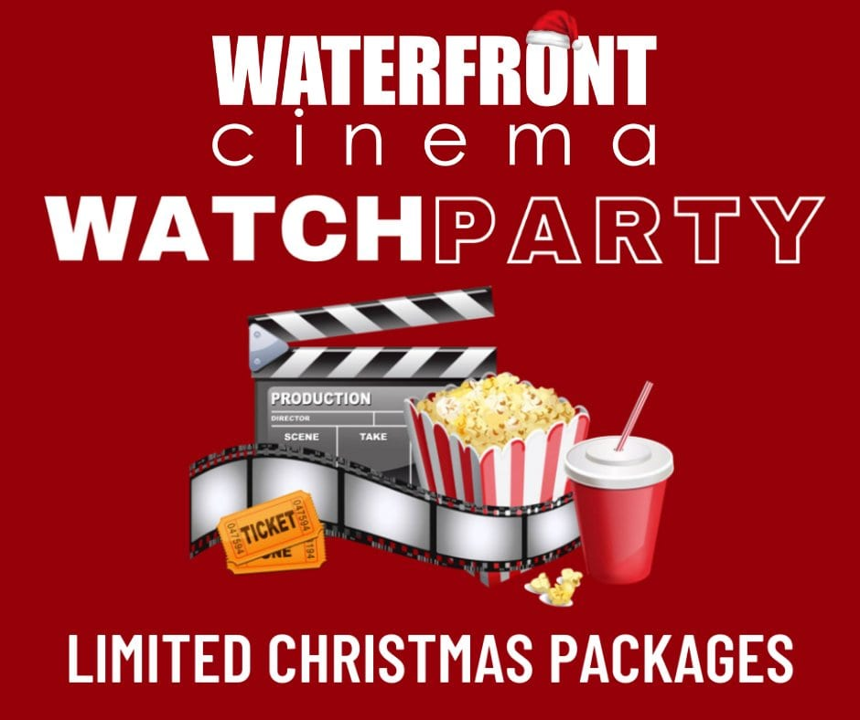 Christmas party packages at the Waterfront Cinema