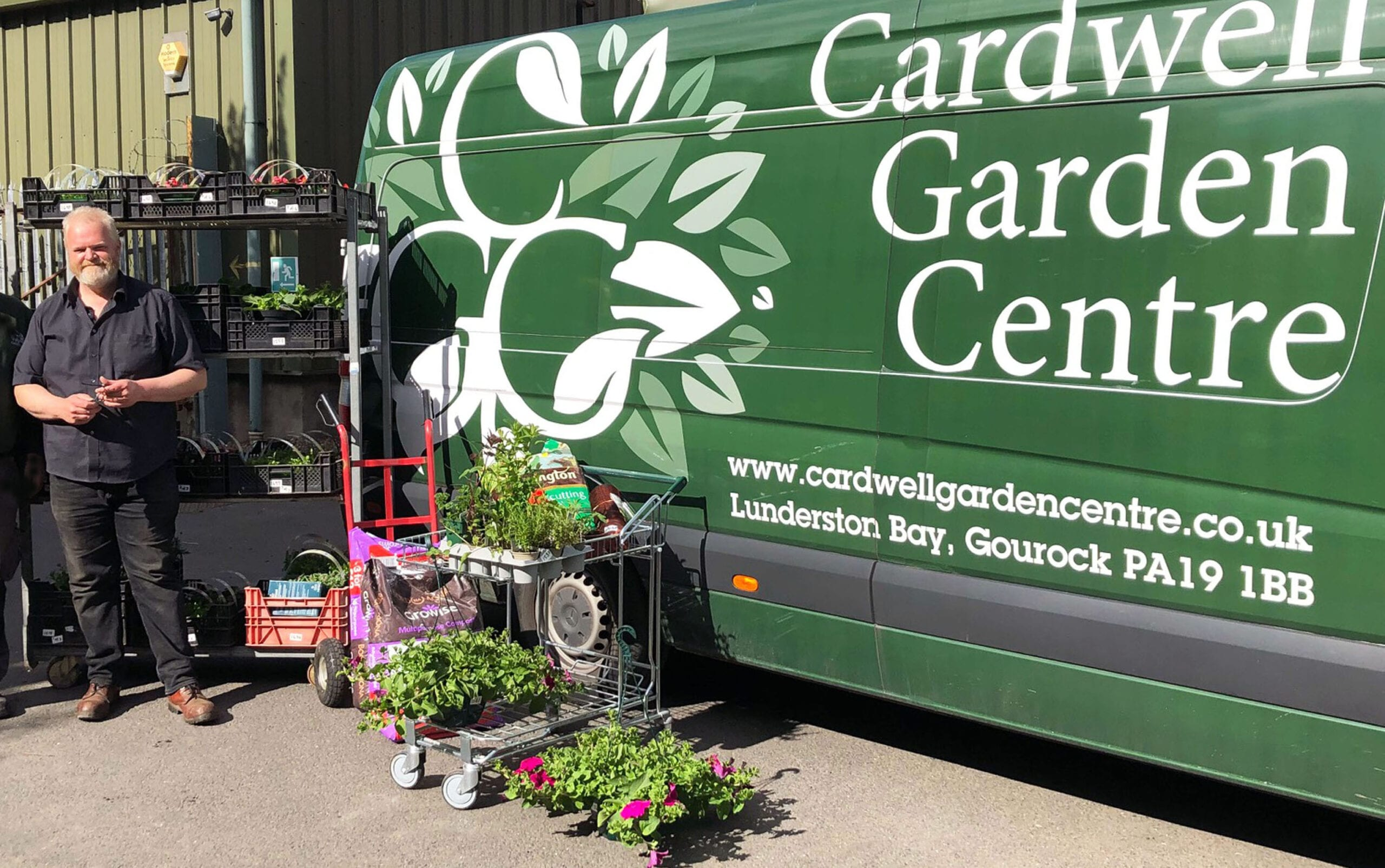 Gardeners can get growing now Cardwell's online store re-opens