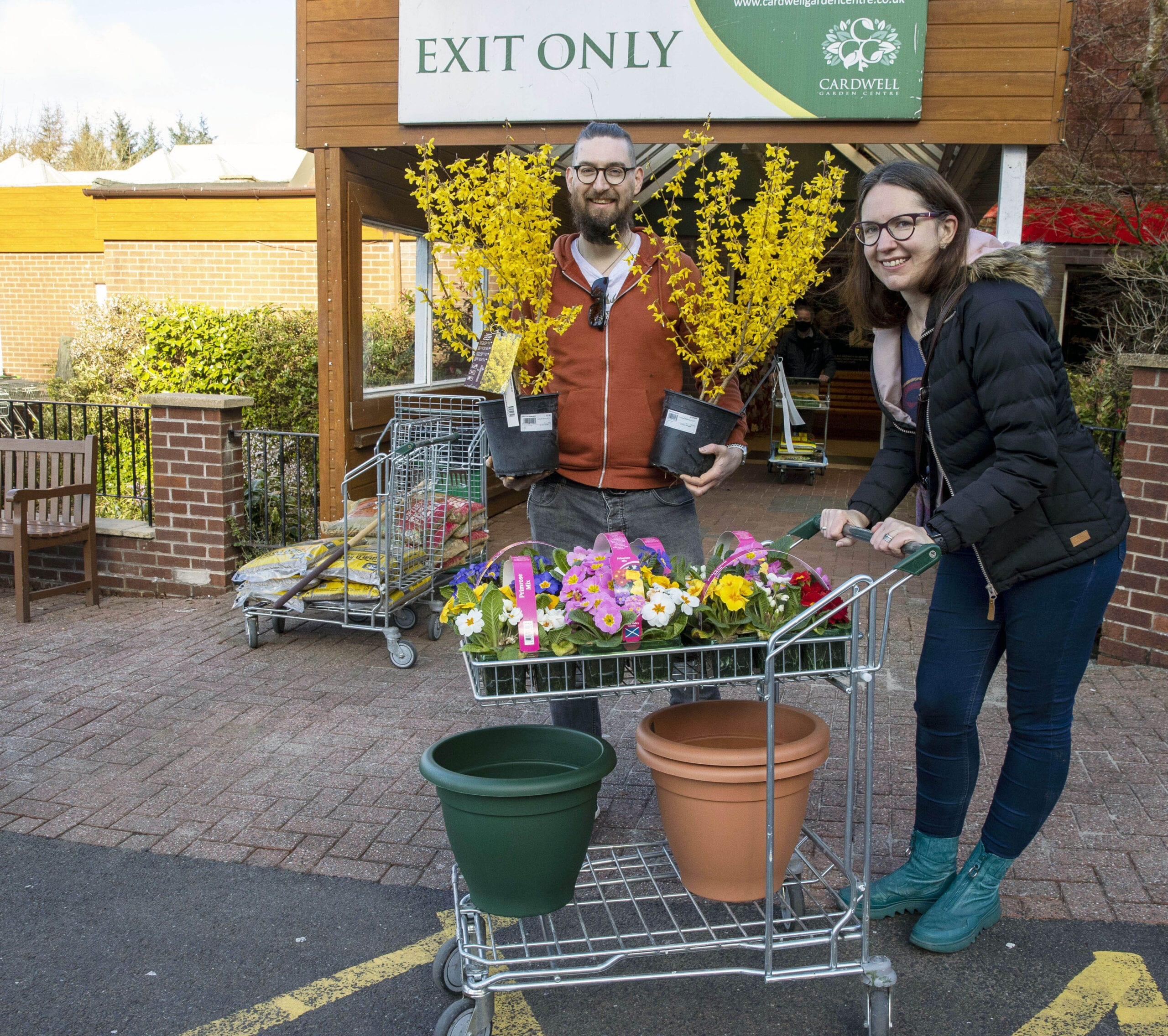 Jumping for joy as Cardwell Garden Centre re-opens