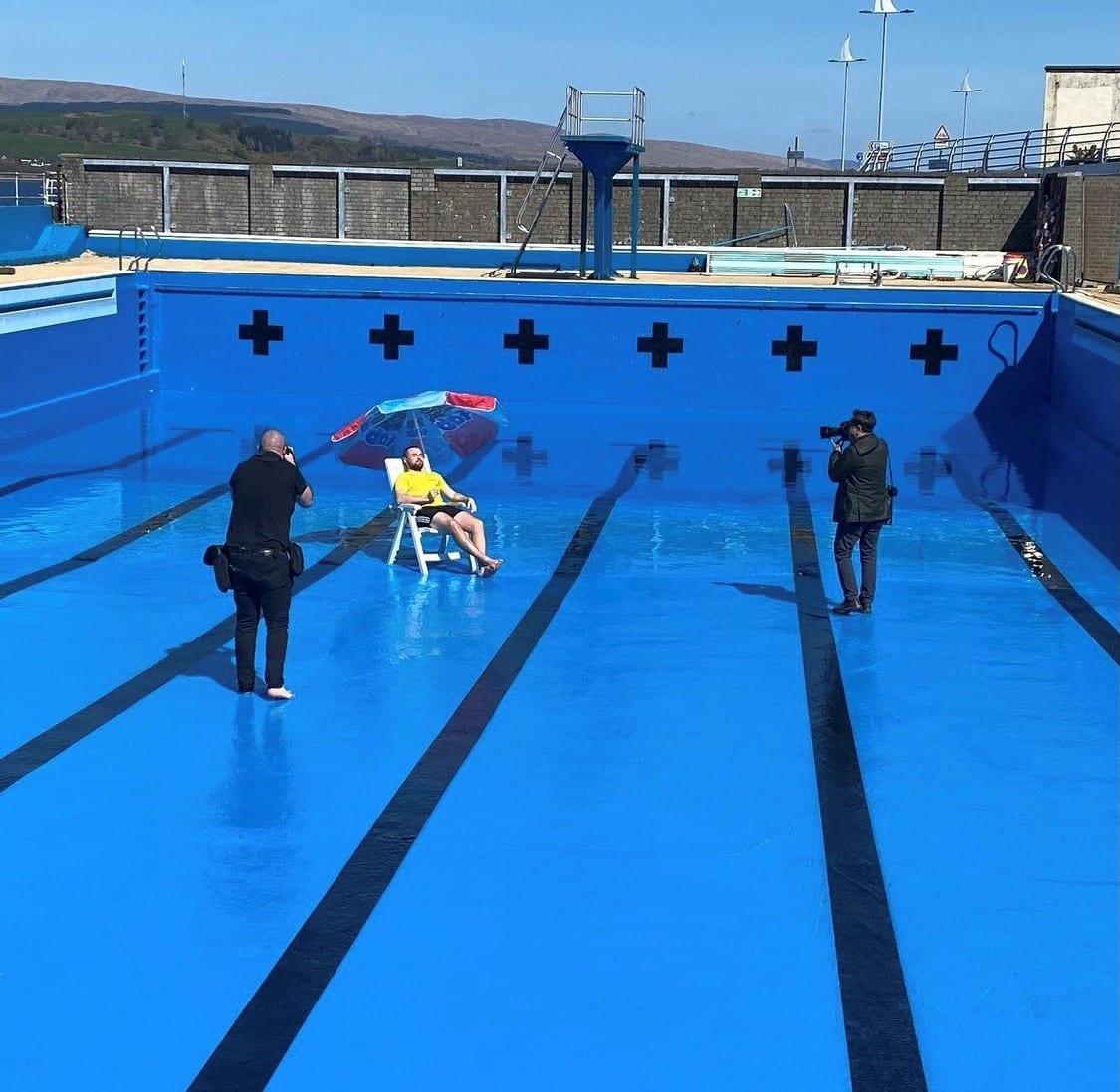 Gourock Outdoor Pool named in UKs top 10