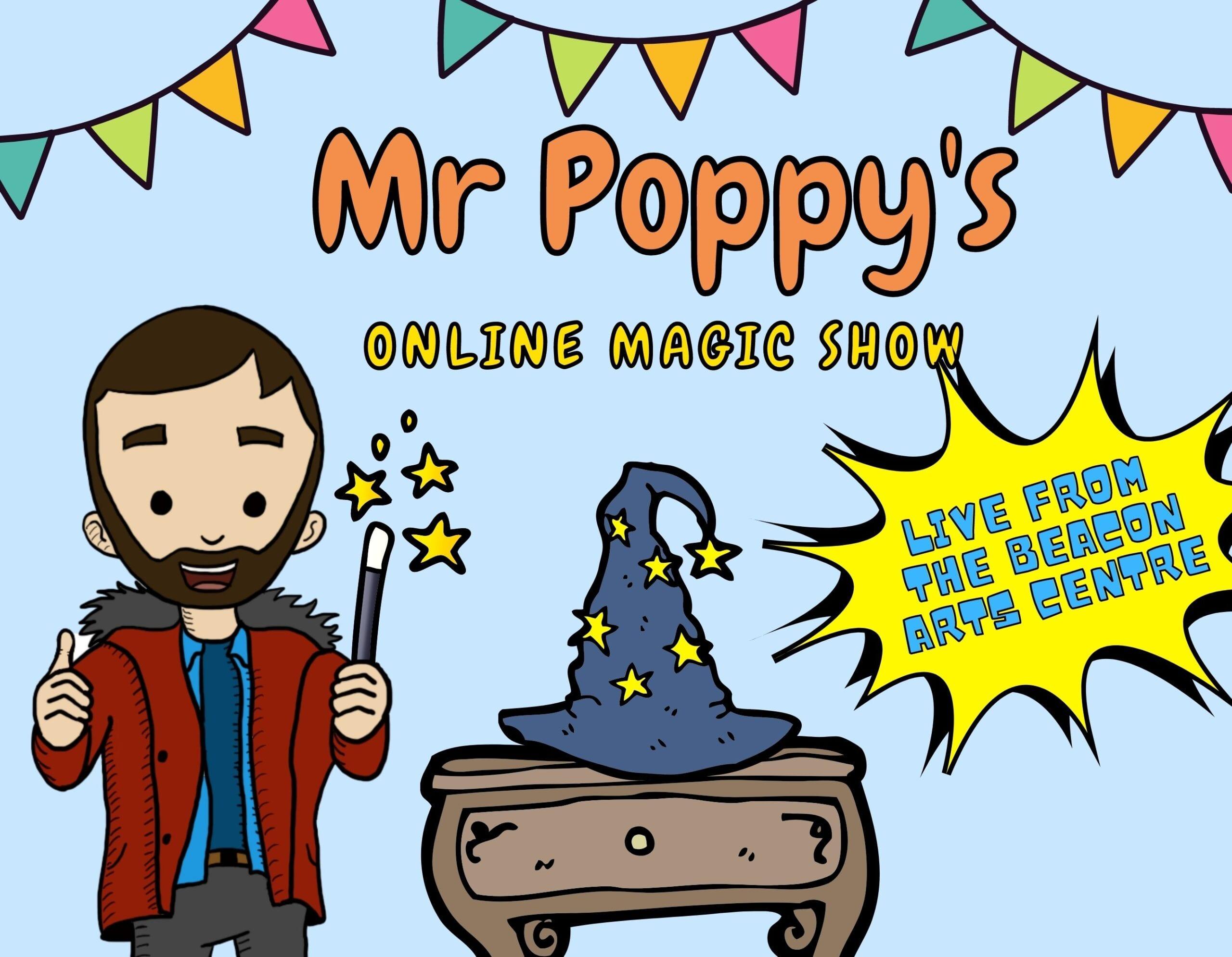 Mr Poppy's Online Magic Show