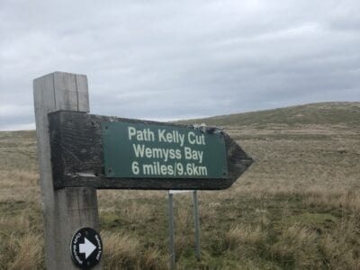 Kelly Cut and Leapmoor Forest