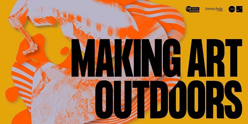 Making Art Outdoors – Online Talk