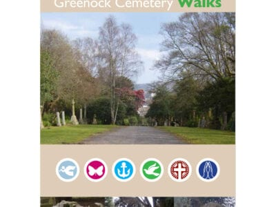Greenock Cemetery Blue Walk
