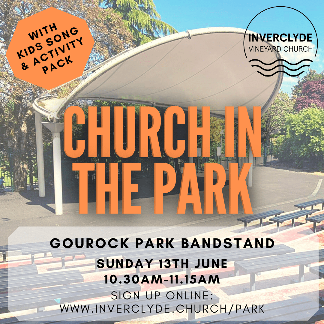 Church in the park, Gourock bandstand