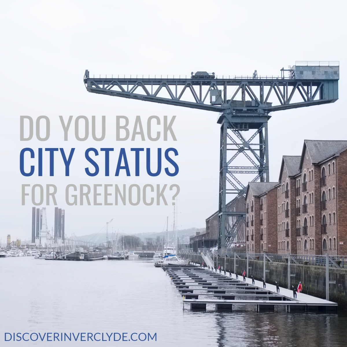Could Greenock become a city?
