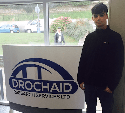 Modern Apprentice joins Drochaid Research
