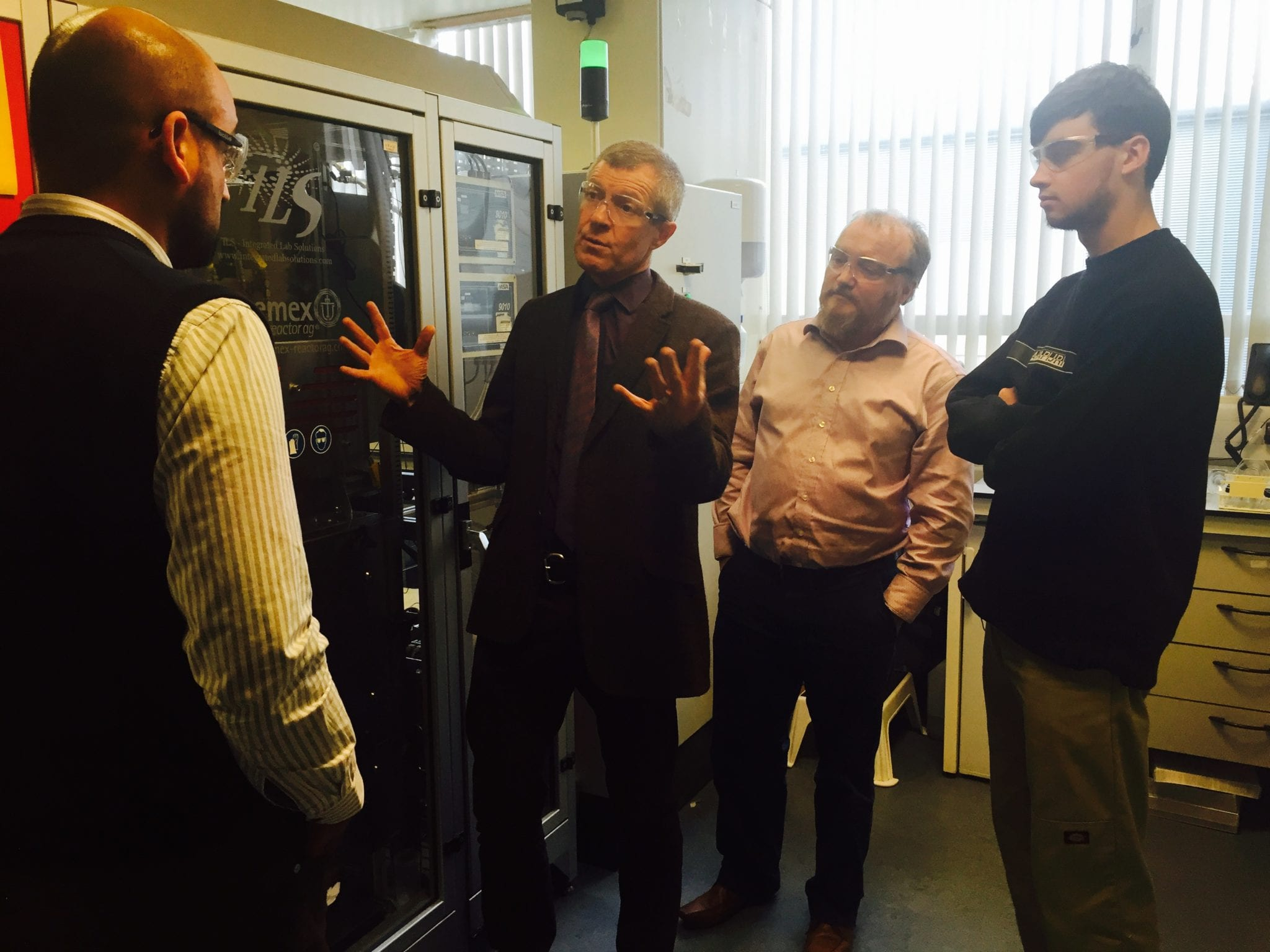 Willie Rennie visits Drochaid