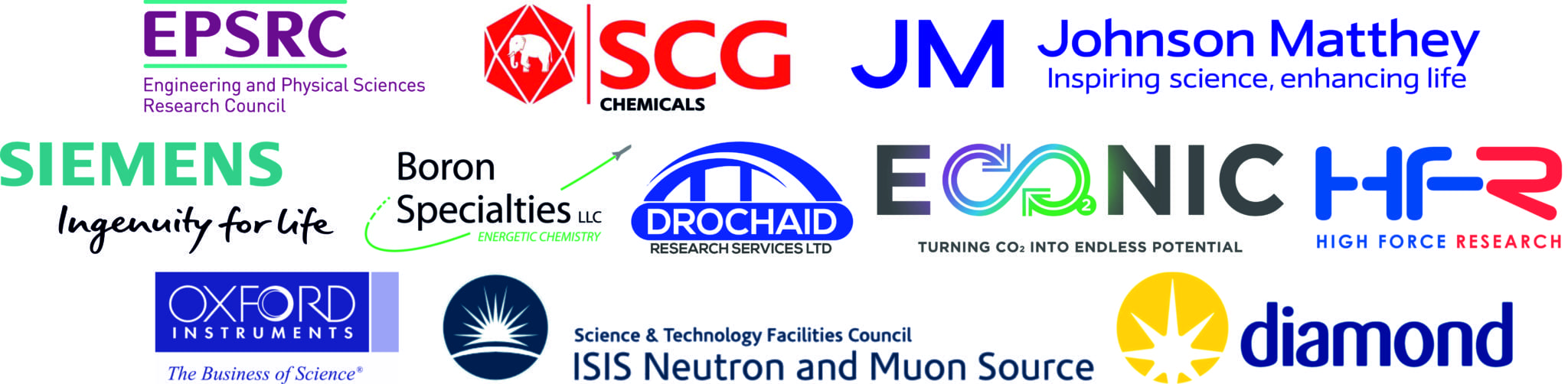 Drochaid announced as partner in Oxicfm (Oxford Inorganic Chemistry for Future Manufacturing)