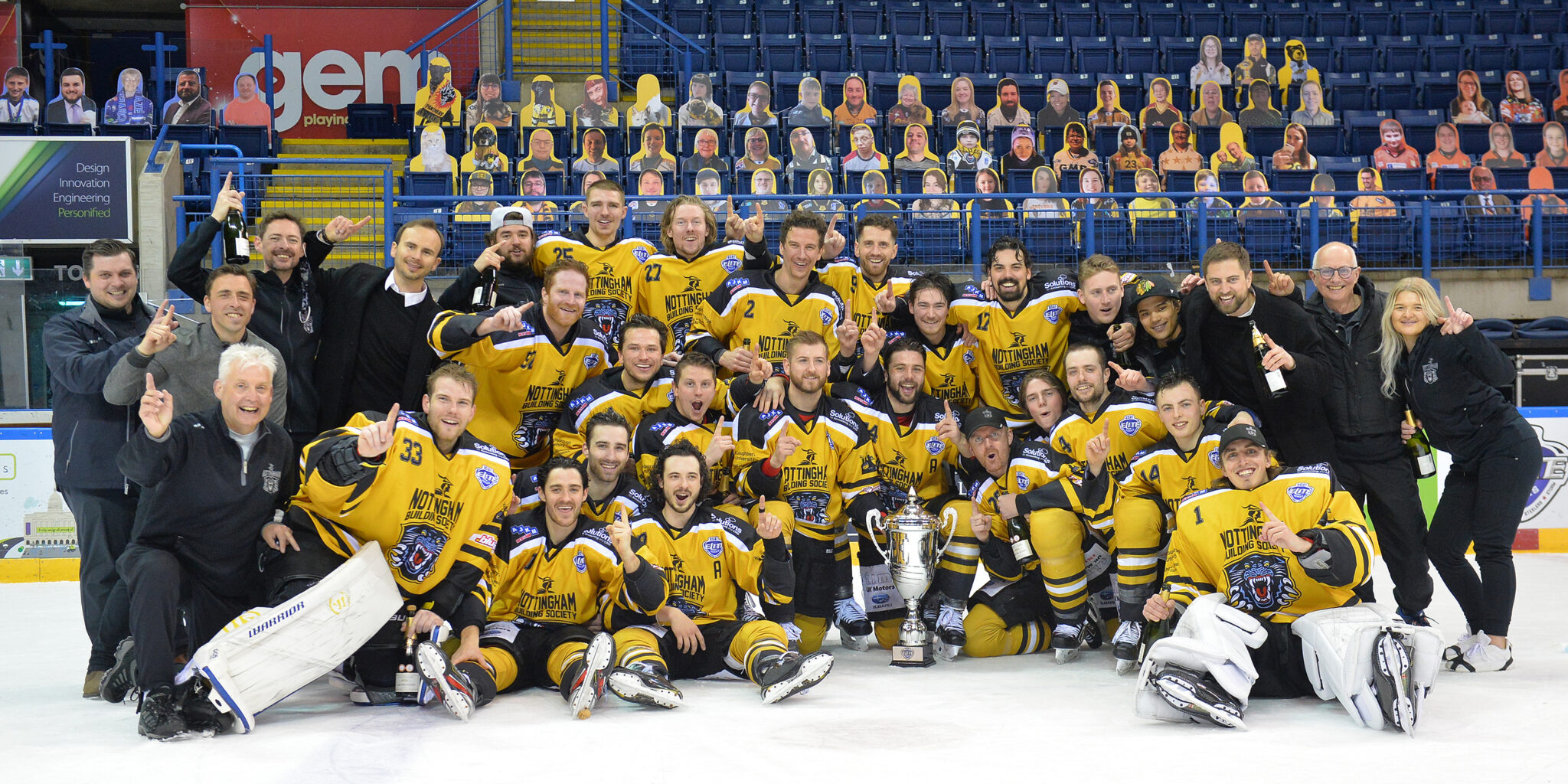 GARRIGAN DELIGHTED TO WIN ELITE SERIES WITH PANTHERS