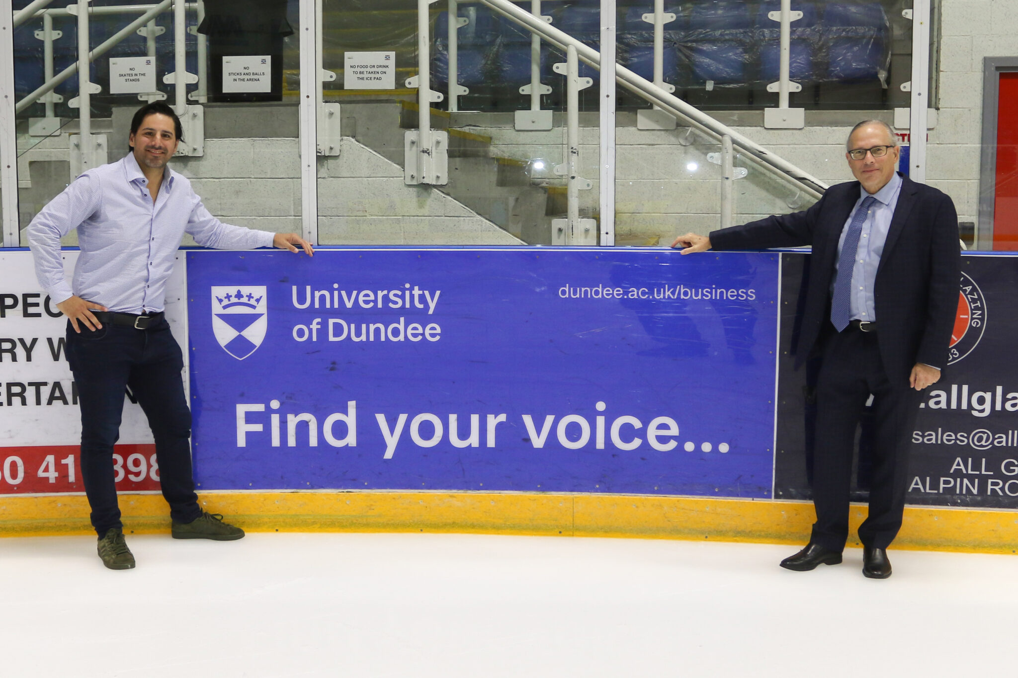 Kitmart Dundee Stars and the University of Dundee School of Business renew partnership