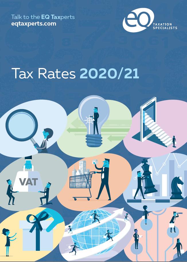 EQ Tax Card - Tax Rates for 2020/2021