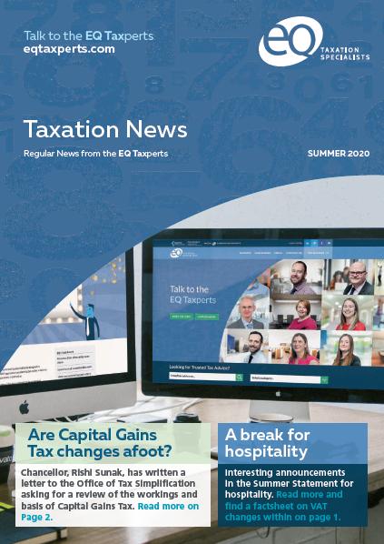 Taxation News - Summer 2020