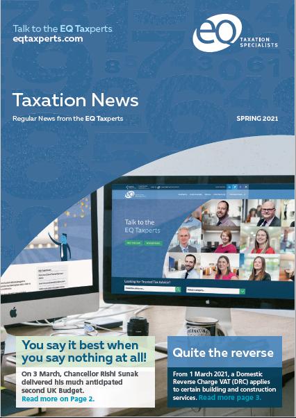 EQ Taxation News - Spring 2021