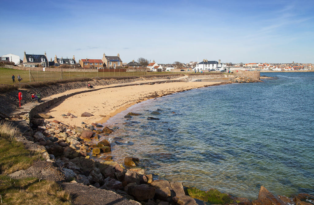 Anstruther-Billowness Fife coastal path in Fife