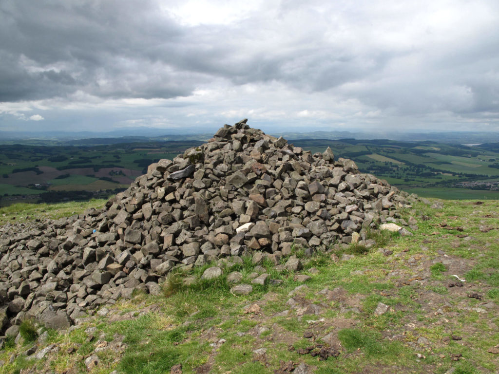 West Lomond Hills with Rocks and Stones