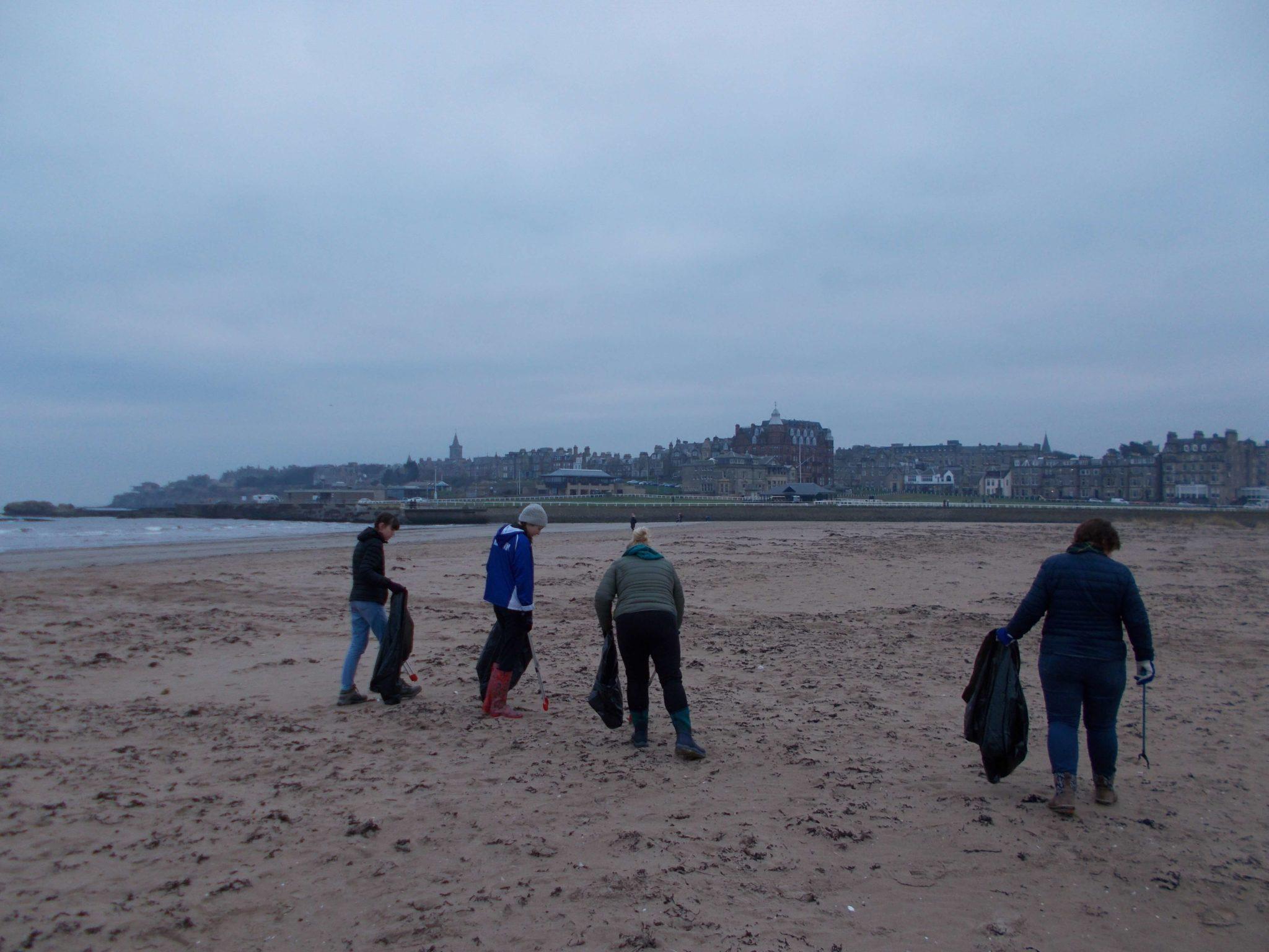 West Sands Beach Clean